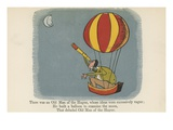 There Was an Old Man of the Hague, Whose Ideas Were Excessively Vague Giclee Print by Edward Lear