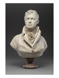 Robert Fulton, C.1804 (Marble) (See also 140329 and 345579) Giclee Print by Jean-Antoine Houdon