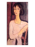 Marguerite, 1916 (Oil on Canvas) Giclee Print by Amedeo Modigliani