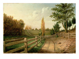 Belfield Farm, c.1816 Giclee Print by Charles Willson Peale