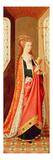 Allegorical Figure of the Christian Church, before 1482 (Oil on Panel) (See also 96935) Giclee Print by  Master of the Legend of St. Ursula