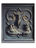 The Crucifixion, Eighteenth Panel of the North Doors of the Baptistery of San Giovanni, 1403-24 Giclee Print by Lorenzo Ghiberti