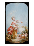 The Grape Gatherer, 1748-52 Reproduction procédé giclée par Jean-Honore Fragonard