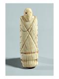 Figure of a Bearded Man (Elephant Ivory) Giclee Print by Naqada I Period Egyptian