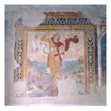 St. Michael (Fresco) Giclee Print by Girolamo Ristori