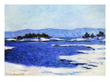 Fjord at Christiania, Norway, 1895 Giclee Print by Claude Monet