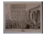 The Morning of the 3rd of June 1799 When the Florentine People Celebrated Giclee Print by Carlo Lasinio