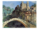 Dolceacqua, Italy, 1884 Giclee Print by Claude Monet