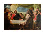 The Last Supper, 1786 (Oil on Canvas) Giclee Print by Benjamin West