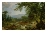 Monument Mountain, Berkshires, 1855-60 Giclee Print by Asher Brown Durand