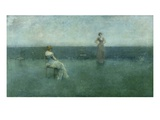 The Recitation, 1891 Giclee Print by Thomas Wilmer Dewing