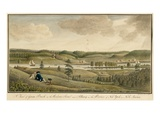 A View of Greenbush on the Hudsons River Near Albany, in the Province of New York, 1766 Giclee Print by Thomas Davies
