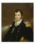 Commodore Oliver Hazard Perry, c.1814 Premium Giclee Print by John Wesley Jarvis