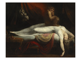The Nightmare, 1781 (Oil on Canvas) Giclee Print by Henry Fuseli
