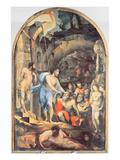 Christ in Limbo, C.1530-35 (Panel) Giclee Print by Domenico Beccafumi