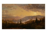 Sunset after a Storm in the Catskill Mountains, C.1860 (Oil on Canvas) Giclee Print by Jasper Francis Cropsey