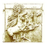 Helios Upon His Chariot, Illustration from 'History of Greece' by Victor Duruy, Published 1890 Giclee Print by  American