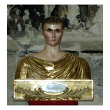Reliquary of St. Just (Painted Wood) Giclee Print by  French