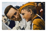A Word with Dr Goebbels, Nazi Germany, 1934 (Photo) Giclee Print by  German photographer