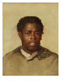 Head of a Negro, c.1777-78 Giclee Print by John Singleton Copley