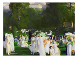 A Day in June, 1913 (Oil on Canvas) Giclee Print by George Wesley Bellows