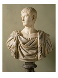 Portrait of the Emperor Caligula (12-41) (Marble) Giclee Print by  Roman