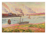 The Pointe D'Ivry, 1886 Giclee Print by Armand Guillaumin