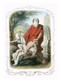 Abraham Offering Up Isaac Giclee Print by Francois Feyen-Perrin