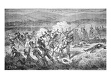 The Mountain Meadows Massacre of 1857 (Engraving) Giclee Print by  American