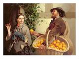 The Orange Seller Giclee Print by William Edward Millner