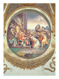 Scene Showing That Those Born under the Sign of Aquarius Giclee Print by Giulio Romano