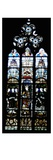 St. Benedict and Benedictine Monks (Stained Glass) Giclee Print by  French