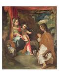 Madonna of San Giovannino with John the Evangelist Giclee Print by Federico Fiori Barocci or Baroccio