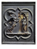 The Annunciation, First Panel of the North Doors of the Baptistery of San Giovanni, 1403-24 Giclee Print by Lorenzo Ghiberti