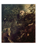 Christ in the Garden of Gethsemane Premium Giclee Print by Jacopo Robusti Tintoretto
