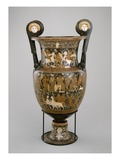 Volute Krater, Apulia, 320-310 BC (Clay) (See also 321232) Giclee Print by  Baltimore Painter
