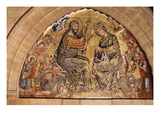 The Coronation of the Virgin (Mosaic) Giclee Print by Gaddo di Zanobi Gaddi