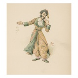 Mr. Mantalini, Illustration from 'Character Sketches from Charles Dickens', C.1890 (Colour Litho) Giclee Print by Joseph Clayton Clarke