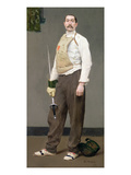The Fencing Master, c.1900 Giclee Print by Julius Gari Melchers