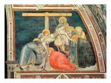 Deposition, C.1320 (Fresco) Gicle-tryk af Pietro Lorenzetti