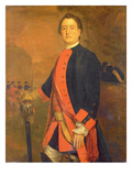 John Long Bateman Esq., Captain in Colonel Ponsonby's Independent Regiment Giclee Print by Stephen Slaughter