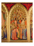 Coronation of the Virgin Polyptych (Middle Right Panel) (See also 66540-66551) Giclee Print by Ambrogio Bondone Giotto