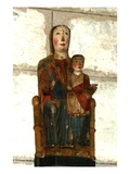 Virgin and Child from Barcelona (Wood) Giclee Print by  Spanish