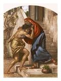 Return of the Prodigal Son Reproduction procédé giclée par  English