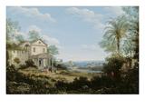 Brazilian Landscape, 1665 Giclee Print by Frans Jansz Post