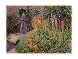 Claude Monet - Gladioli, c.1876 - Giclee Baskı