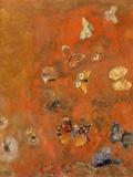 Evocation of Butterflies, c.1912 Giclée-tryk af Odilon Redon