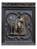 St Mark the Evangelist, Panel D of the North Doors of the Baptistery of San Giovanni, 1403-24 Giclee Print by Lorenzo Ghiberti