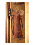 Angel Playing a Tambourine, Detail from the Linaiuoli Triptych, 1433 (Tempera on Panel) Giclee Print by Fra Angelico