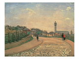 Crystal Palace, Upper Norwood Giclee Print by Camille Pissarro